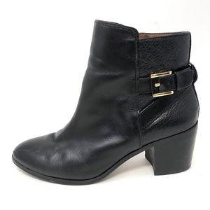 Louise Et Cie ZALIA Boot SZ 8 Leather Heeled Ankle